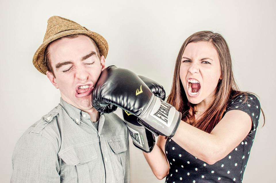 les disputes dans le couple